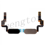 Home Button with Flex Cable,Connector and Fingerprint Scanner Sensor for HTC U11 Life - Black