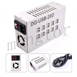 DG-USB-20D Multi-function 20 Ports Power Adapter for Mobile Phone