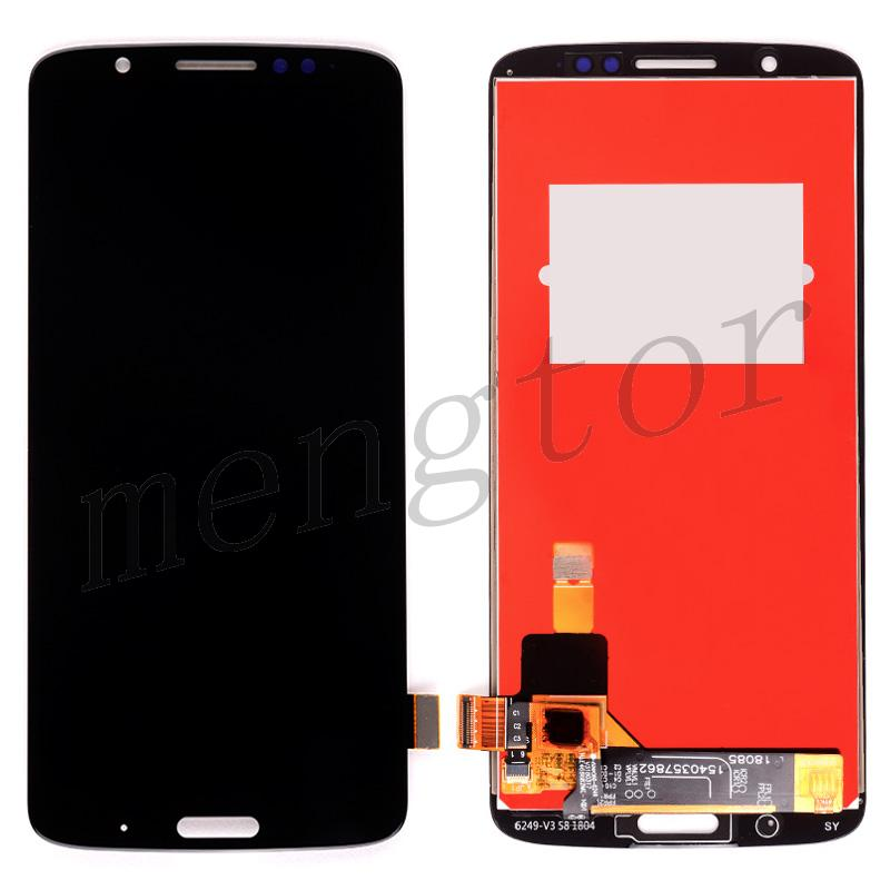 LCD Screen Display with Touch Digitizer Panel for Motorola Moto G6 Plus XT1926(for Motorola) - Black