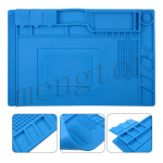 450x300mm Magnetic Heat Insulation Silicone Pad Mat Platform for Mobile Phone Repair