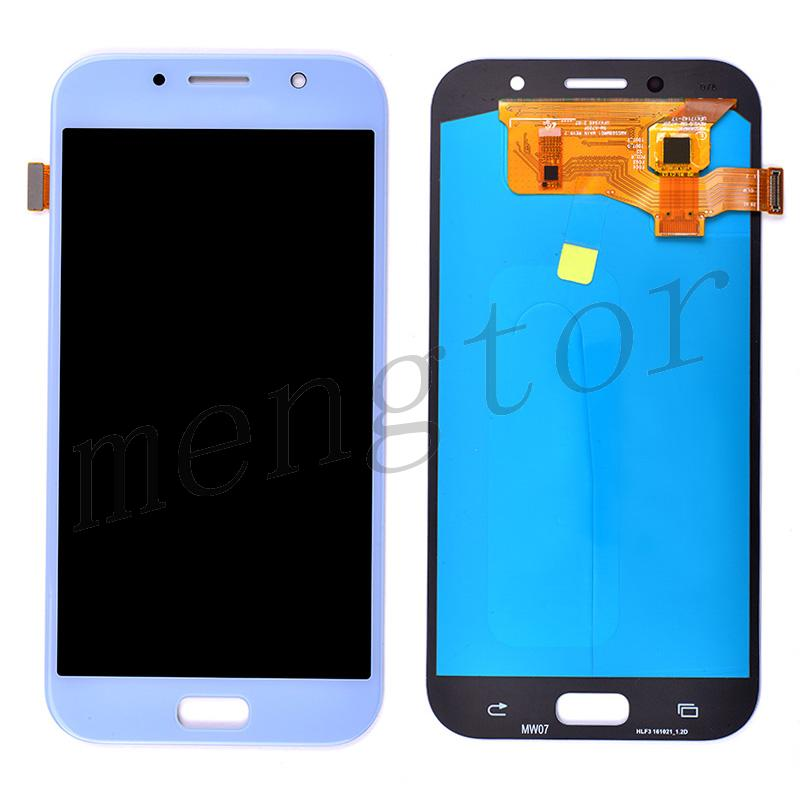 LCD Screen Display with Digitizer Touch Panel for Samsung Galaxy A7 2017 A720 - Blue