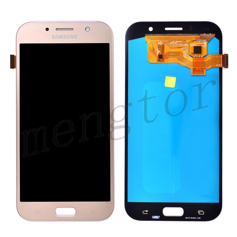 LCD Screen Display with Digitizer Touch Panel for Samsung Galaxy A7 2017 A720(for Samsung) - Gold