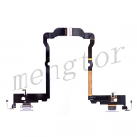 Charging Port with Flex Cable for iPhone XS Max(6.5 inches)(Super High Quality) - Gray