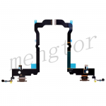 Charging Port with Flex Cable for iPhone XS Max(6.5 inches)(Super High Quality) - Brown