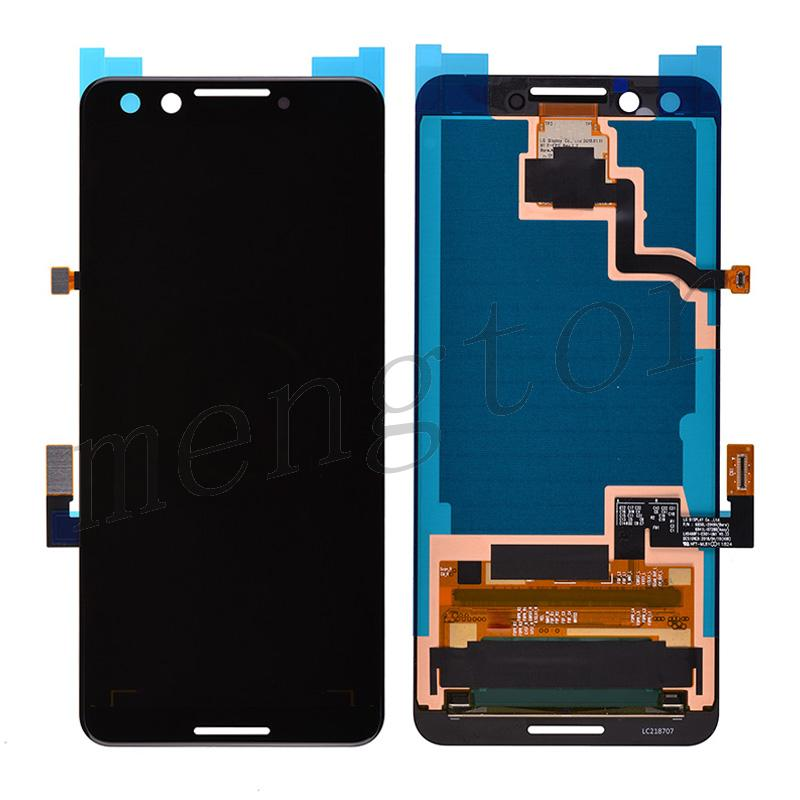 OLED LCD Screen Display with Touch Digitizer Panel for Google Pixel 3 - Black