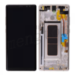 LCD Screen Display with Digitizer Touch Panel and Frame for Samsung Galaxy Note 8 N950 (Gold Frame) - Black
