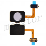 Home Button with Flex Cable,Connector and Fingerprint Scanner Sensor for LG Stylo 4 Q710 - White