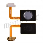 Home Button with Flex Cable,Connector and Fingerprint Scanner Sensor for LG G7 ThinQ LM-G710 - Gray