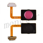 Home Button with Flex Cable,Connector and Fingerprint Scanner Sensor for LG G7 ThinQ LM-G710 - Red