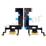 Charging Port with Flex Cable for iPhone XR(6.1 inches)(Super High Quality)  - Yellow