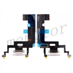 Charging Port with Flex Cable for iPhone XR(6.1 inches)(Super High Quality)  - White