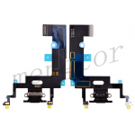 Charging Port with Flex Cable for iPhone XR(6.1 inches)(Super High Quality)  - Black
