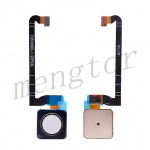 Home Button with Flex Cable,Connector and Fingerprint Scanner Sensor for Google Pixel 3 - White