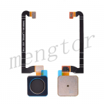 Home Button with Flex Cable,Connector and Fingerprint Scanner Sensor for Google Pixel 3 - Black