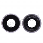 Rear Camera Glass Lens and Cover Bezel Ring for iPhone XR - Silver