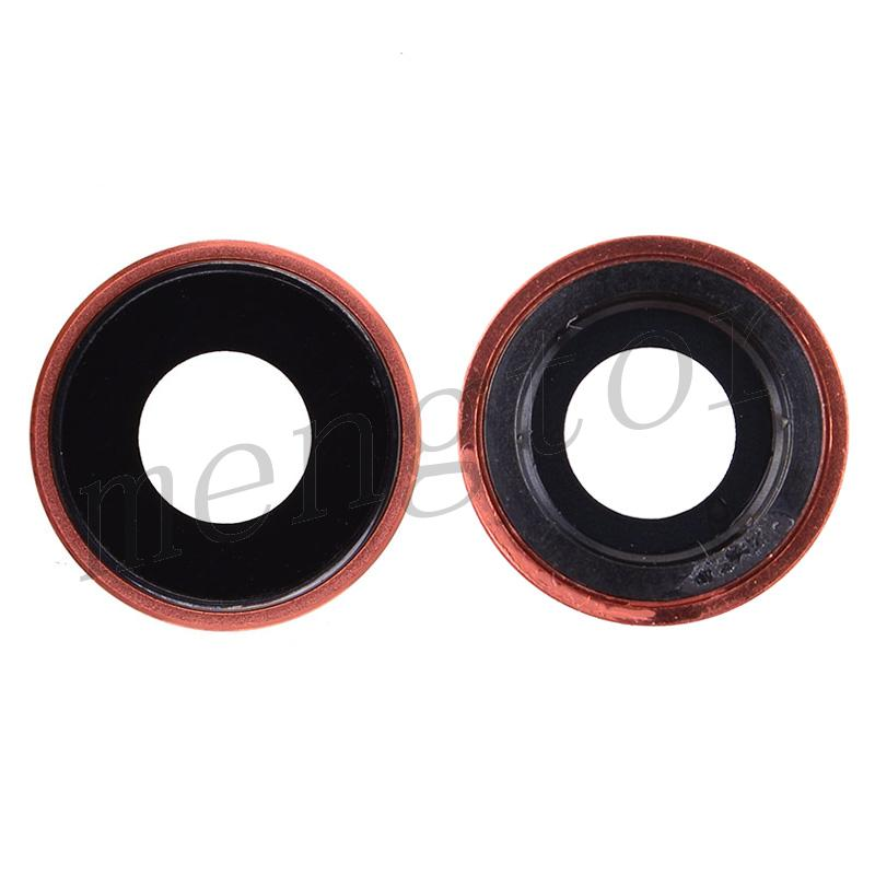 Rear Camera Glass Lens and Cover Bezel Ring for iPhone XR - Coral