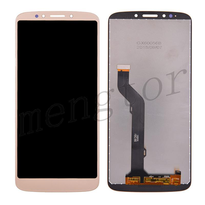 LCD Screen Display with Touch Digitizer Panel for Motorola Moto E5 Plus XT1924(for Motorola) - Gold