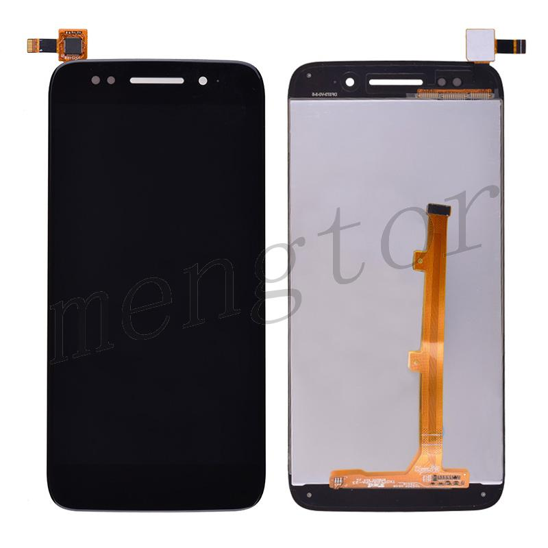 LCD Screen Display with Digitizer Touch Panel for Alcatel Idol 5 OT-6058D/X - Black