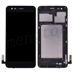 LCD Screen Display with Digitizer Touch Panel and Bezel Frame for LG Phoenix 3 M150/ LG Fortune M153 (for LG) - Black