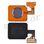 Home Button with Flex Cable,Connector and Fingerprint Scanner Sensor for LG V40 ThinQ V405 - Silver