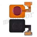 Home Button with Flex Cable,Connector and Fingerprint Scanner Sensor for LG V40 ThinQ V405 - Red
