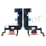 Charging Port with Flex Cable for iPhone XR(6.1 inches)(Super High Quality)  - Coral