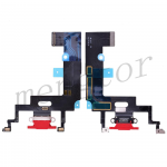 Charging Port with Flex Cable for iPhone XR(6.1 inches)(Super High Quality)  - Red