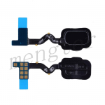 Home Button with Flex Cable,Connector and Fingerprint Scanner Sensor for Samsung Galaxy A6(2018) A600A - Black