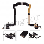 Charging Port with Flex Cable for iPhone X (Super High Quality) -  Black