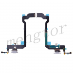 Charging Port with Flex Cable for iPhone XS(5.8 inches)(Super High Quality)  - Gray