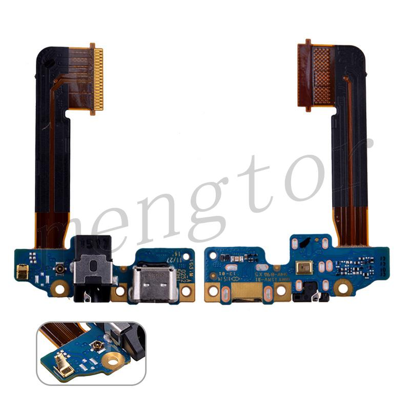 Charging Port with Flex Cable, Headphone Jack and Microphone for HTC One M9(One Antenna Connector)