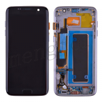 LCD Screen Display with Digitizer Touch Panel and Bezel Frame for Samsung Galaxy S7 Edge G935A (for SAMSUNG) - Black