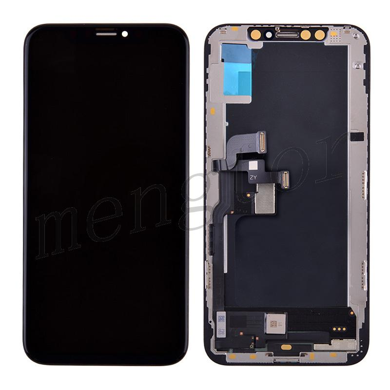 OLED Screen Display with Touch Digitizer Panel and Frame for iPhone XS(5.8 inches)(Generic Plus) - Black