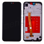 LCD Screen Display with Digitizer Touch Panel and Bezel Frame for Huawei P20 Lite (Black Frame) - Black
