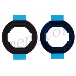 Home Button Rubber Gasket for iPad Air (2 Pcs/Set) -Black