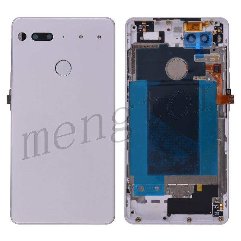 Back Cover Battery Door with Camera Lens for Essential Phone PH-1 - White