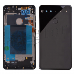 Back Cover Battery Door with Camera Lens for Essential Phone PH-1 - Jet Black