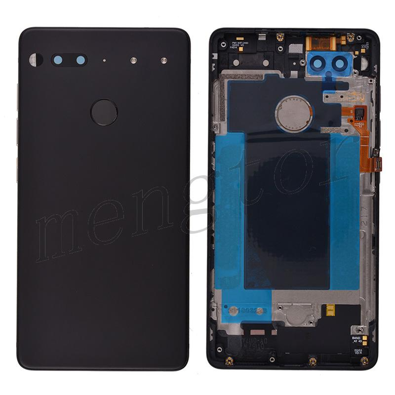 Back Cover Battery Door with Camera Lens for Essential Phone PH-1 - Black