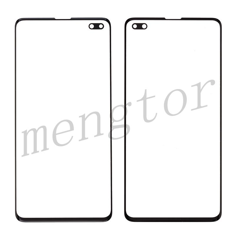 Front Screen Glass Lens for Samsung Galaxy S10 Plus G975 - Black