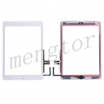 Touch Screen Digitizer With Home Button and Home Button Flex Cable for iPad 6(2018) A1893 A1954(High Quality) - Gold
