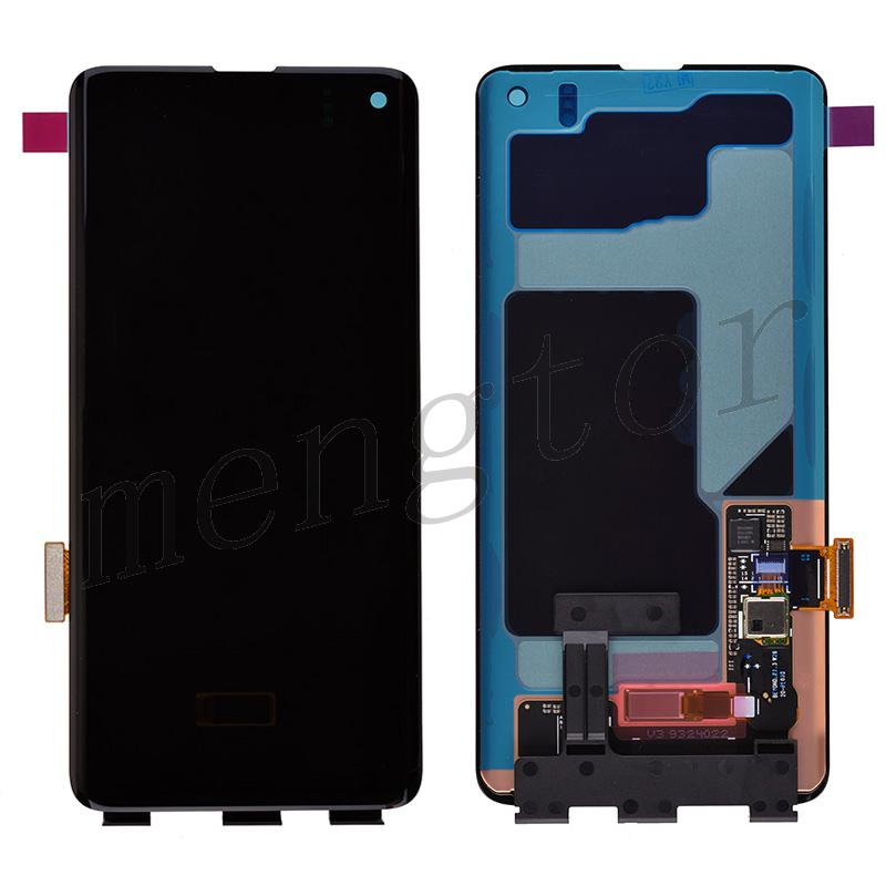 LCD Screen Display with Digitizer Touch Panel for Samsung Galaxy S10 G973 - Black