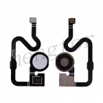 Home Button with Flex Cable,Connector and Fingerprint Scanner Sensor for Google Pixel 3a - White