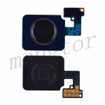 Home Button with Flex Cable,Connector and Fingerprint Scanner Sensor for LG V40 ThinQ V405 - Black