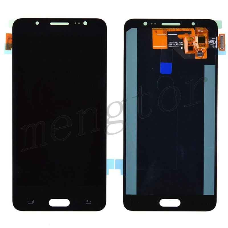 LCD Screen with Touch Digitizer for Samsung Galaxy J5 2016 Duos J5108 J510F J510FN J510G J510GN J510H J510K J510L J510MN J510UN(for Samsung) - Black