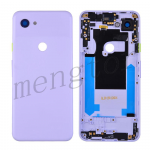 Back Housing with Small Parts Pre-installed for Google Pixel 3a - Purple