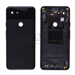 Back Housing with Small Parts Pre-installed for Google Pixel 3a - Black