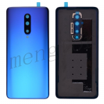 Back Cover Battery Door with Camera Glass Lens and Cover for OnePlus 7 Pro - Blue