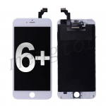 LCD with Touch Screen Digitizer and Frame for iPhone 6 Plus (5.5 inches)  (High Quality)  - White