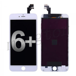 LCD with Touch Screen Digitizer with Frame for iPhone 6 Plus (5.5 inches)  (Generic)  - White