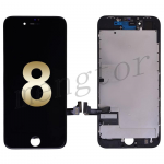 LCD Screen Display with Touch Digitizer Panel and Frame for iPhone 8 (4.7 inches)(Premium Grade) - Black